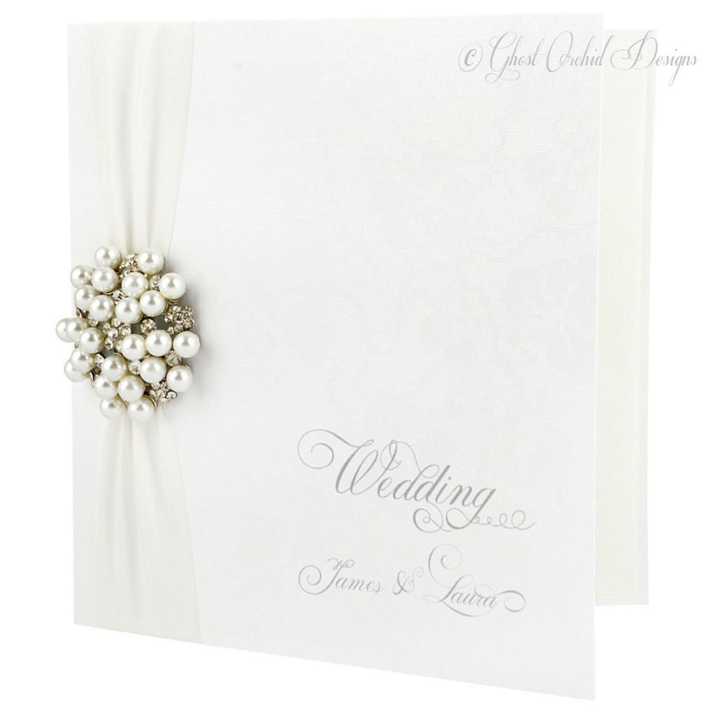 Ghost Orchid Invitations