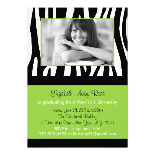 Graduation Invitations Print Your Own