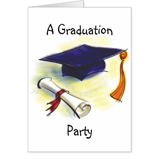 Party invitation cards graduation party invitation cards stopboris