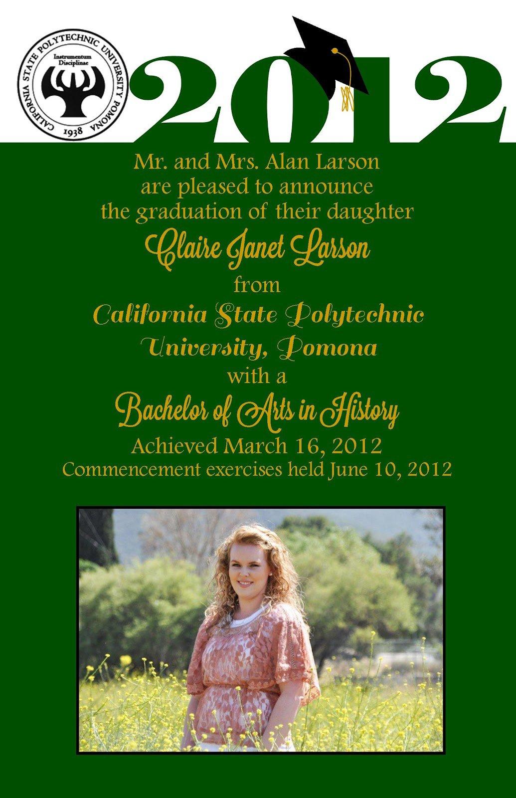 Graduation Party Invitation Wording Funny