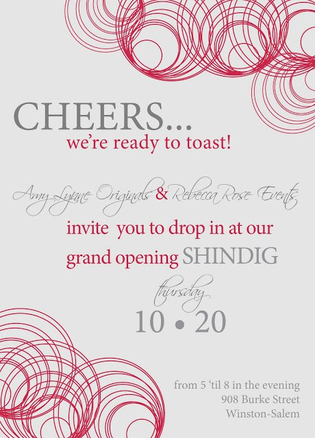 Grand Opening Invitations