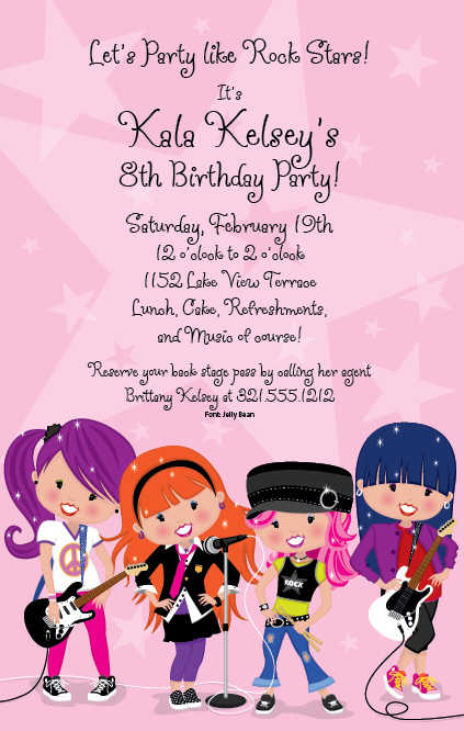 Group Birthday Invitation Poem