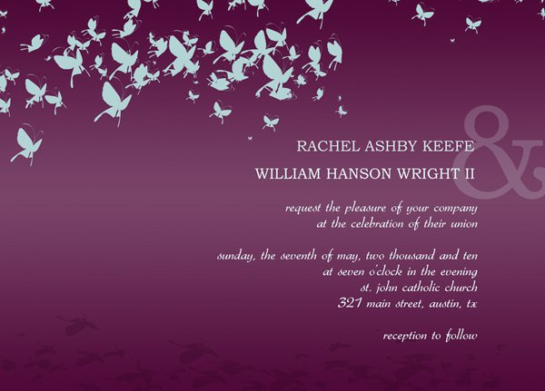Hallmark Wedding Invitations Templates