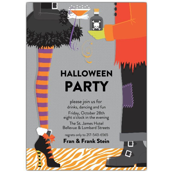 Costume Party Invitation Wording – Halloween Costume Party Invite