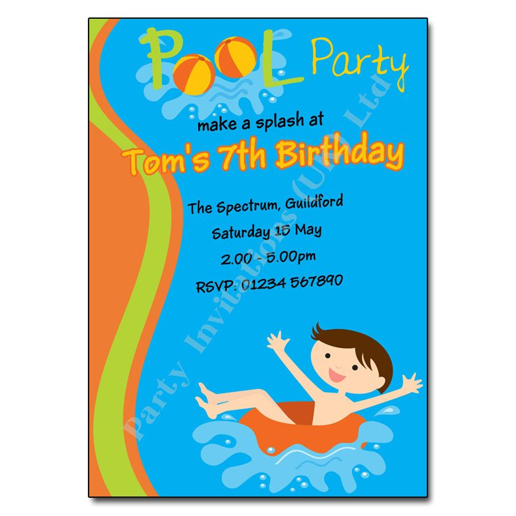 Party Invitation Wording