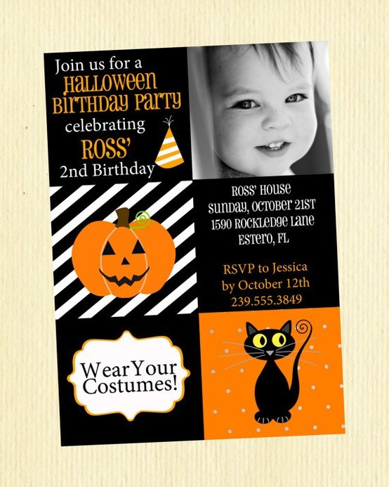Halloween Party Invitation Wording Ideas