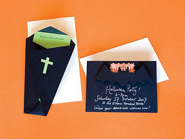 Halloween Party Invitations Templates Pinterest