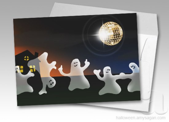 Halloween Pool Party Invitations