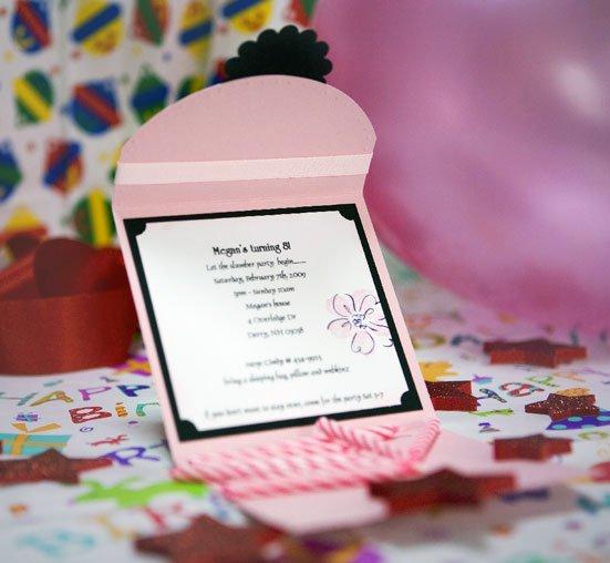 Birthday Invitations – Handmade Birthday Invitation