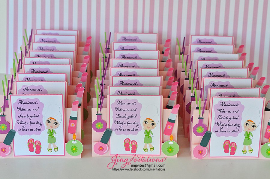Handmade Birthday Invitations For Girls