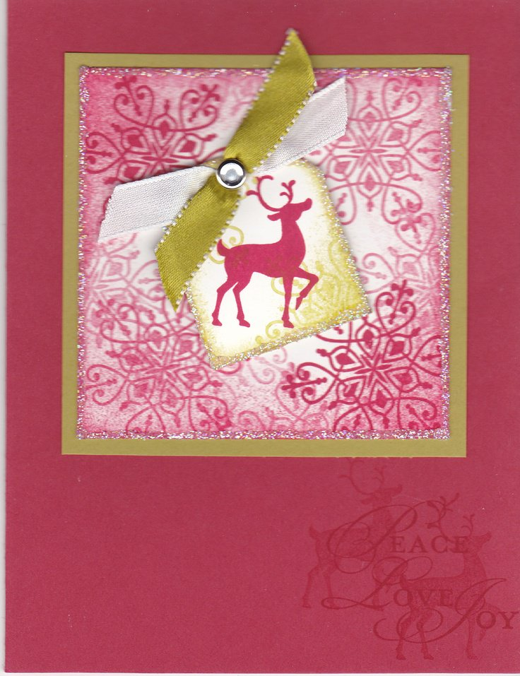Handmade Christmas Invitations