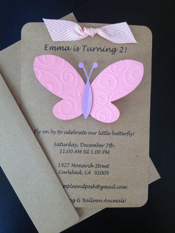 Handmade Invitations For Birthday Party