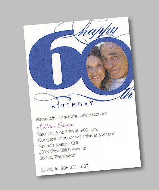 Sixty Birthday Invitations is great invitation example