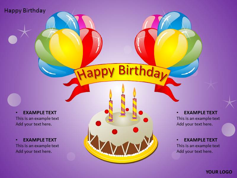 Happy Birthday Templates Free Powerpoint