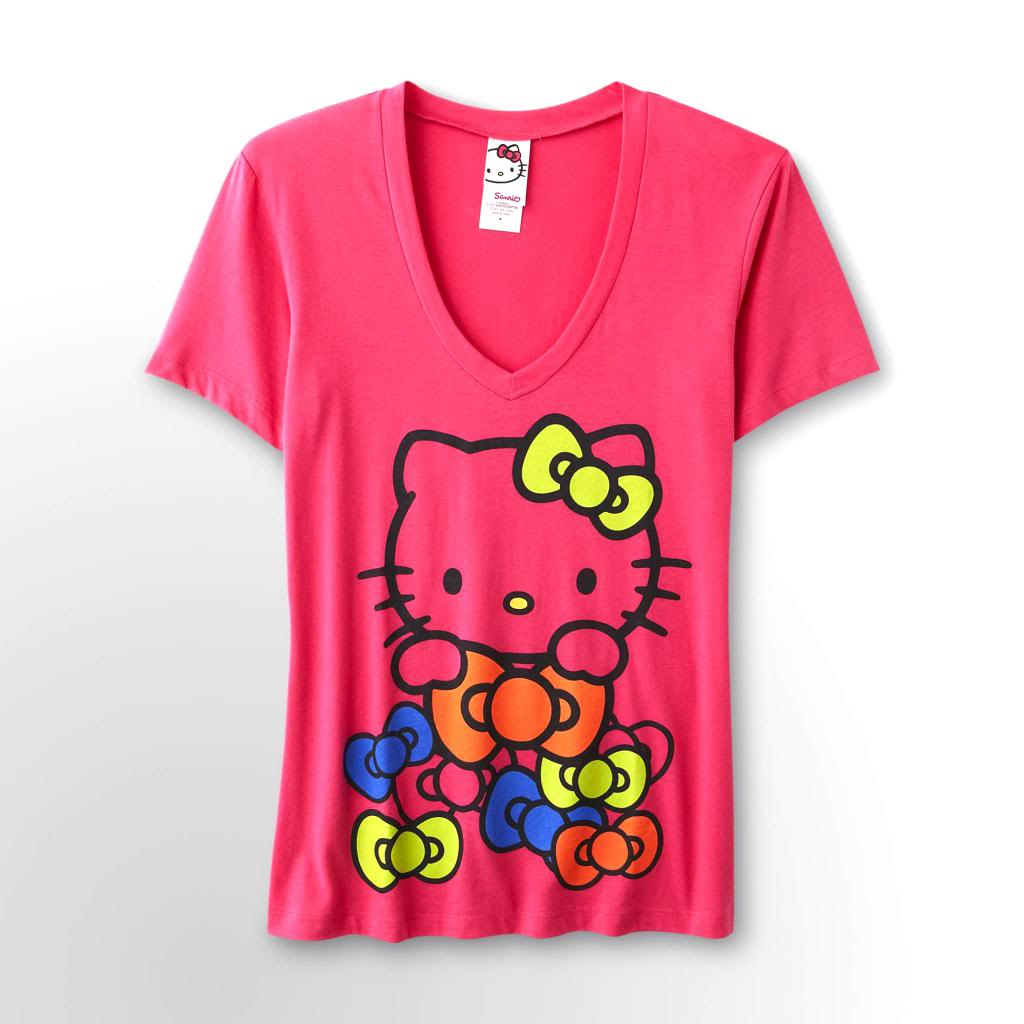 Hello Kitty Shirts For Juniors