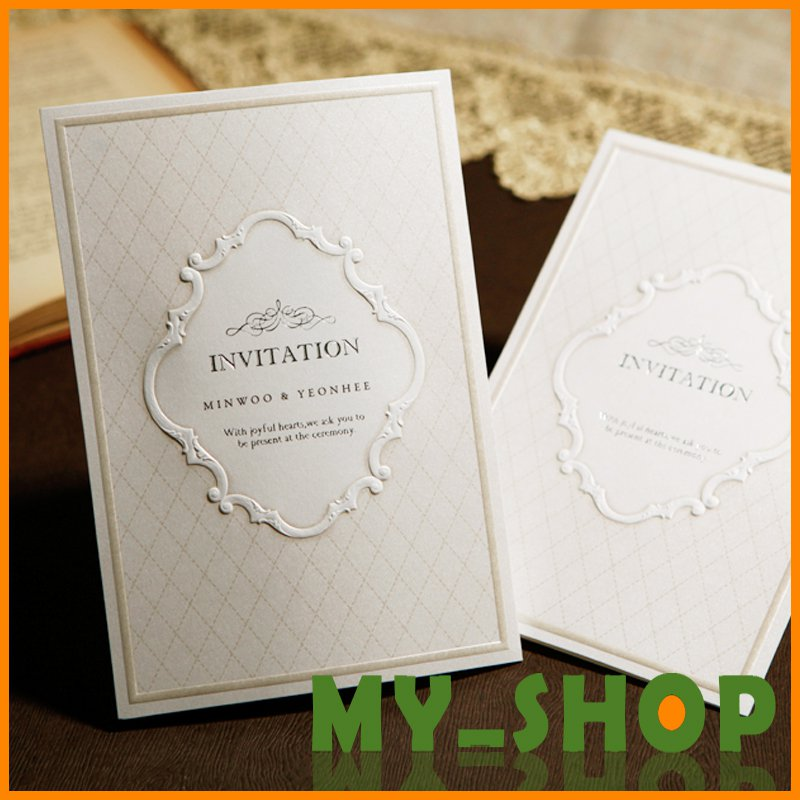 High End Elegant Wedding Invitations: High-end Elegant Wedding Invitations