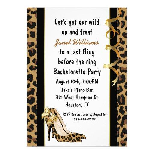 High Heels Invitations Printable