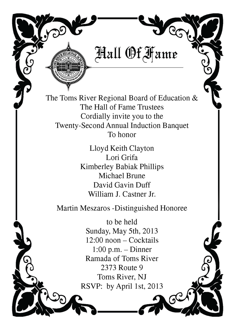 Banquet Invitation 4 H Youth Development
