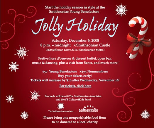 Holiday Invitation Samples