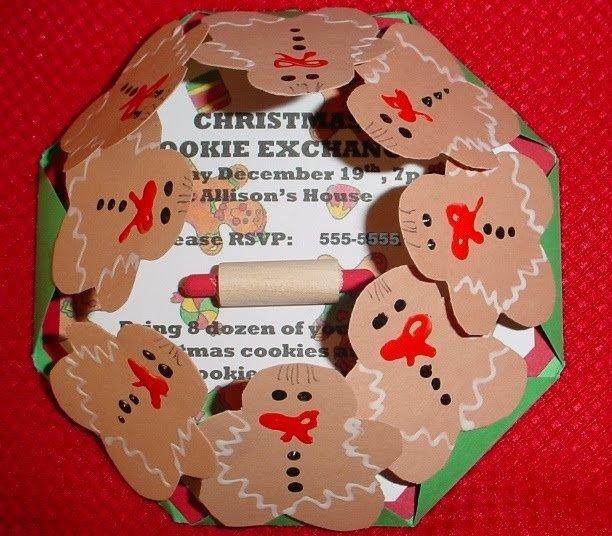 Homemade Christmas Party Invitations Ideas