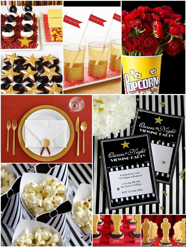 Homemade Oscar Invitations