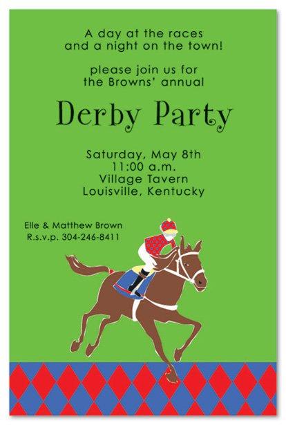 Horse Racing Invitation Templates Free