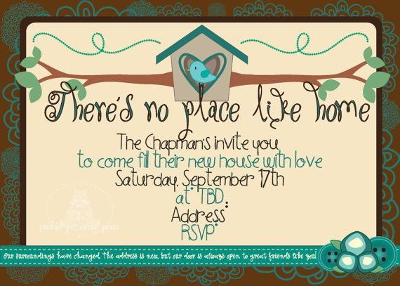 Housewarming Invitation Cards Free Download