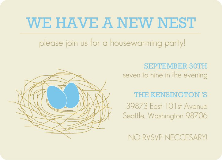 Housewarming Invitation Cards Free Printable