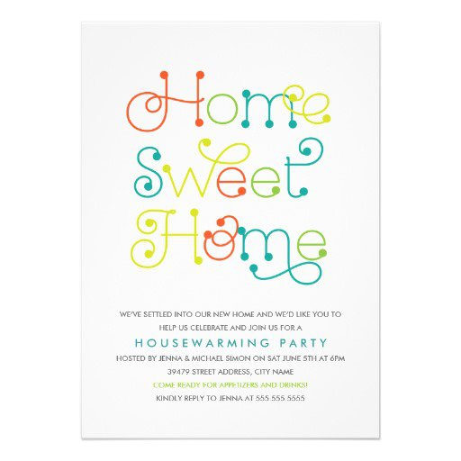 House Warming Invitation Wording