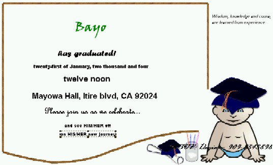 Hp Free Printable Graduation Invitations