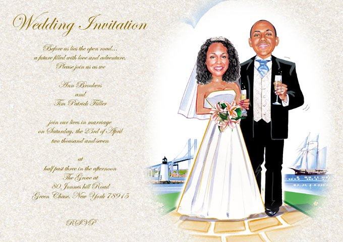 Humor Wedding Invitations: Humorous Wedding Invitation Wording