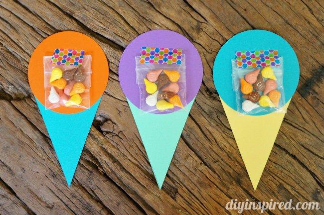 Ice Cream Cone Invitations Templates