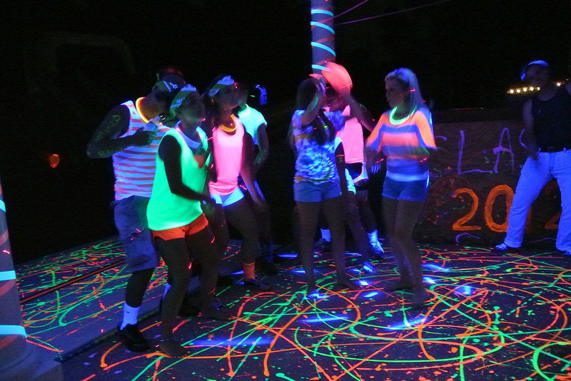 Ideas For Blacklight Party Invitations