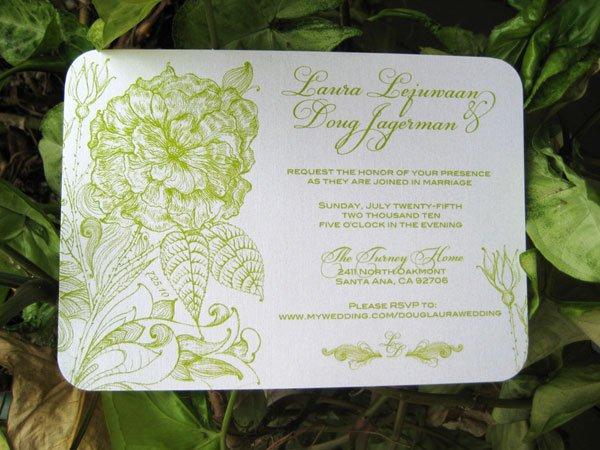 Ideas For Wedding Invitation Inserts