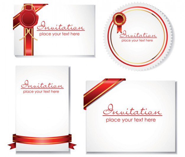 Invitation Cards Templates Free Download