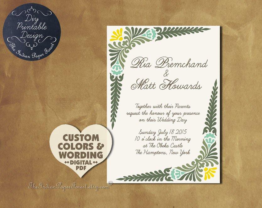 Invitation Design Pdf