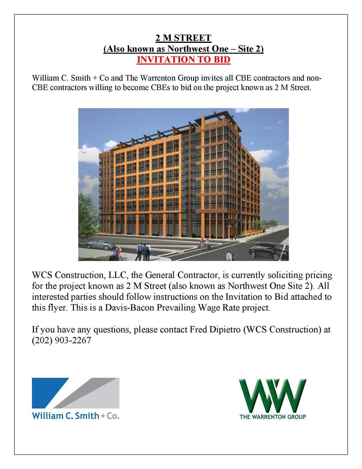Invitation To Bid Construction Project