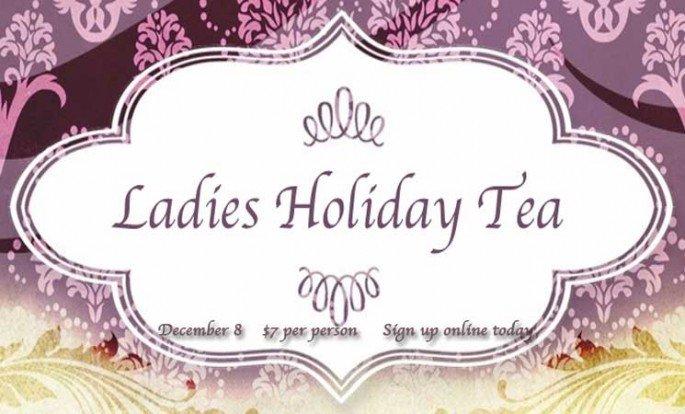 Ladies Tea Invitations Sample