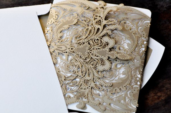 Laser Cut Paper Invitations Uk