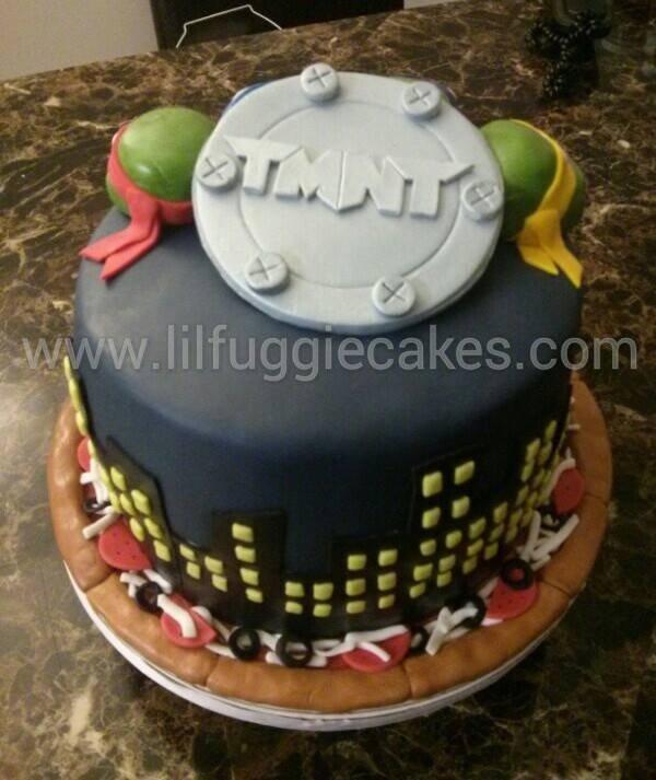Lego Ninja Turtles Birthday Invitations