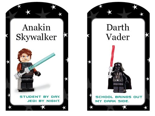 Lego Star Wars Party Free Printables
