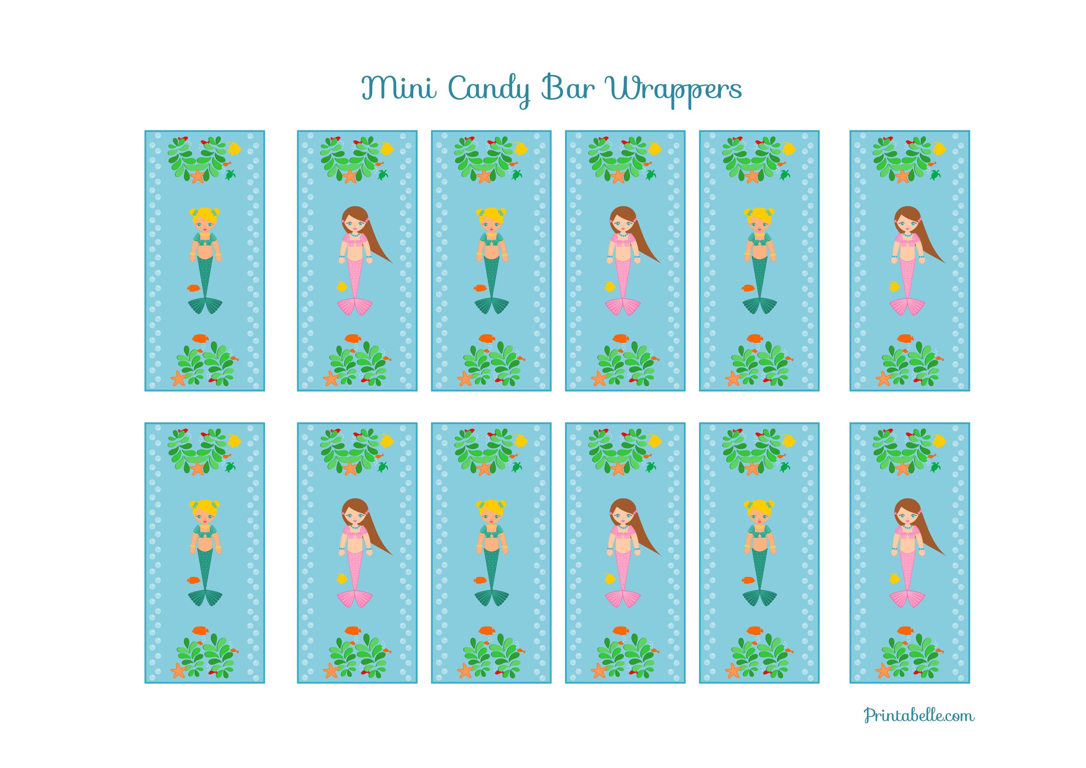 Little Mermaid Birthday Banner Free