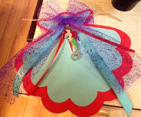 Little Mermaid Pool Party Invitations