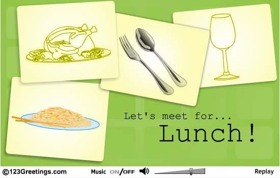 Lunch Invitation Ideas