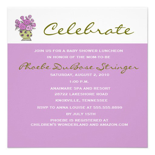 Luncheon Invitation Templates