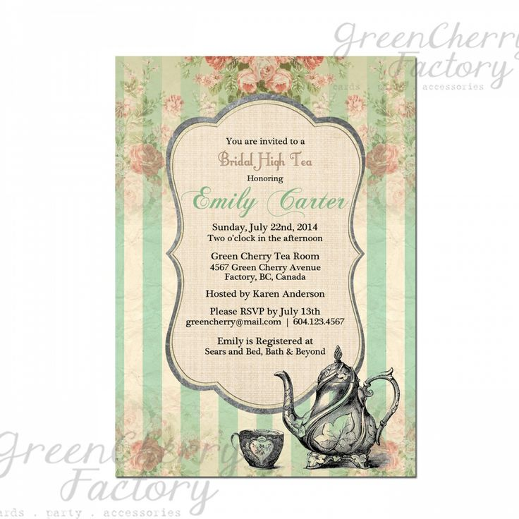 Luncheon Invitation Templates Free