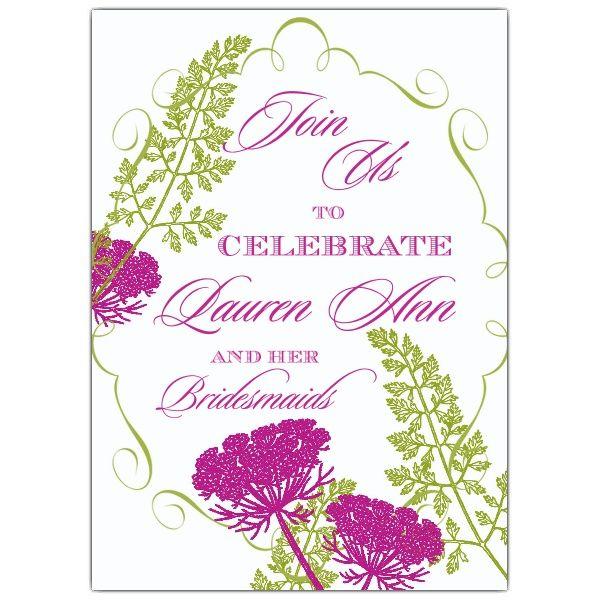 Luncheon Invitations Vintage Printable