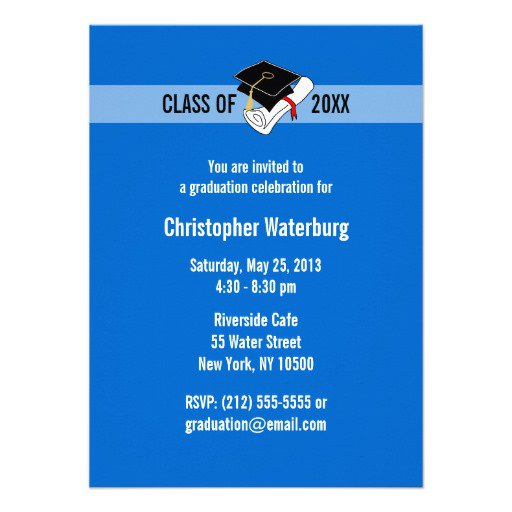 Make Your Own Graduation Announcements For Free
