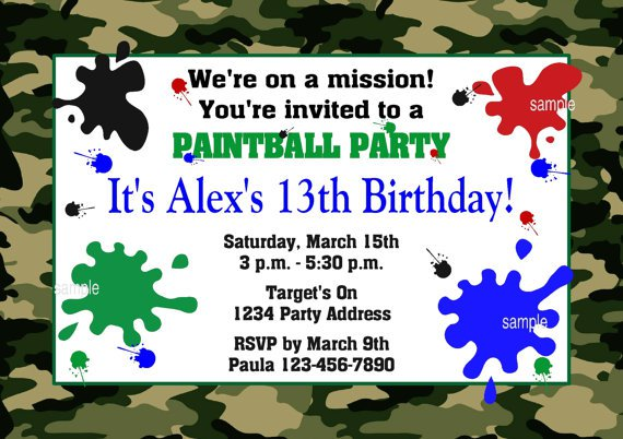 Make Your Own Invitations Free To Print