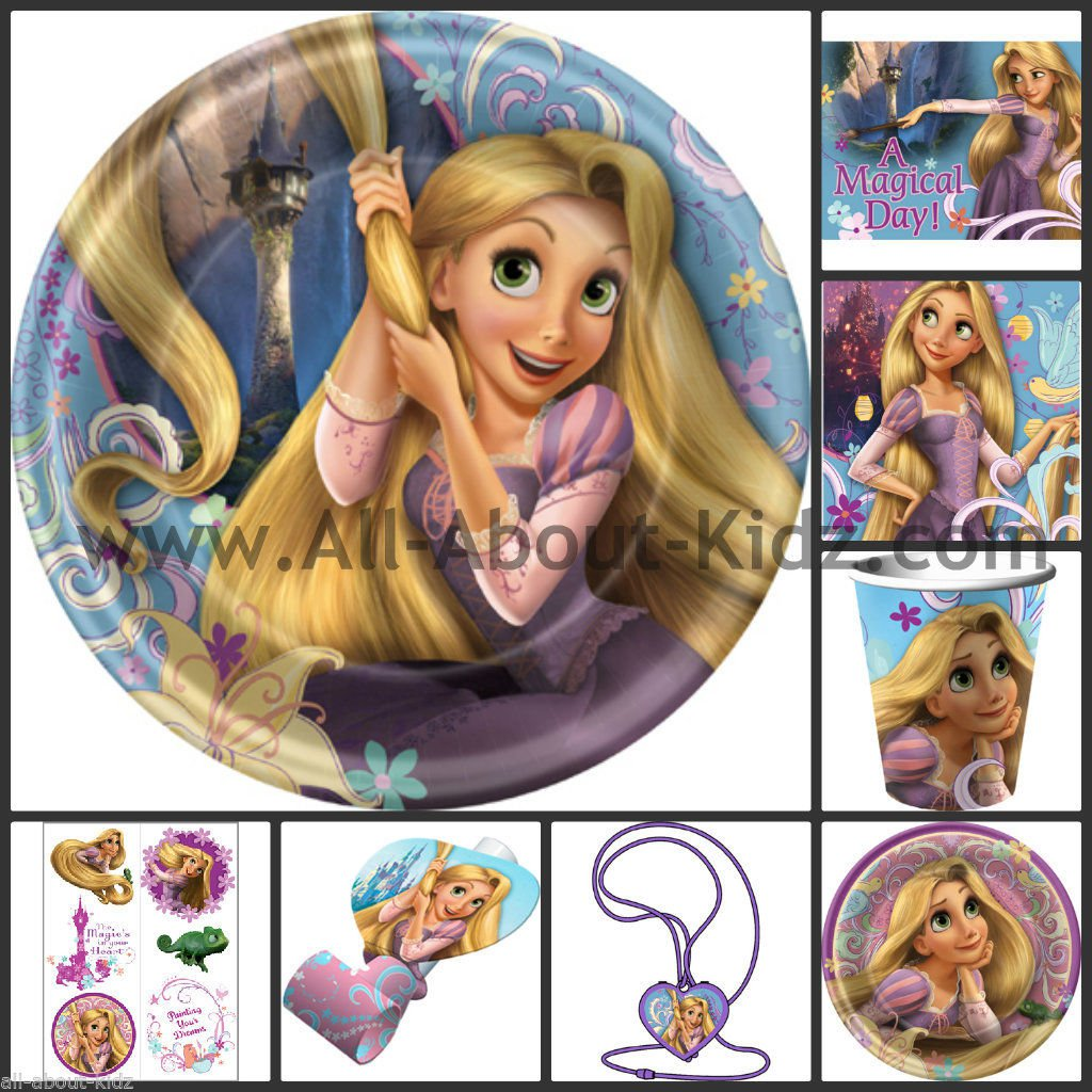Make Your Own Rapunzel Invitations